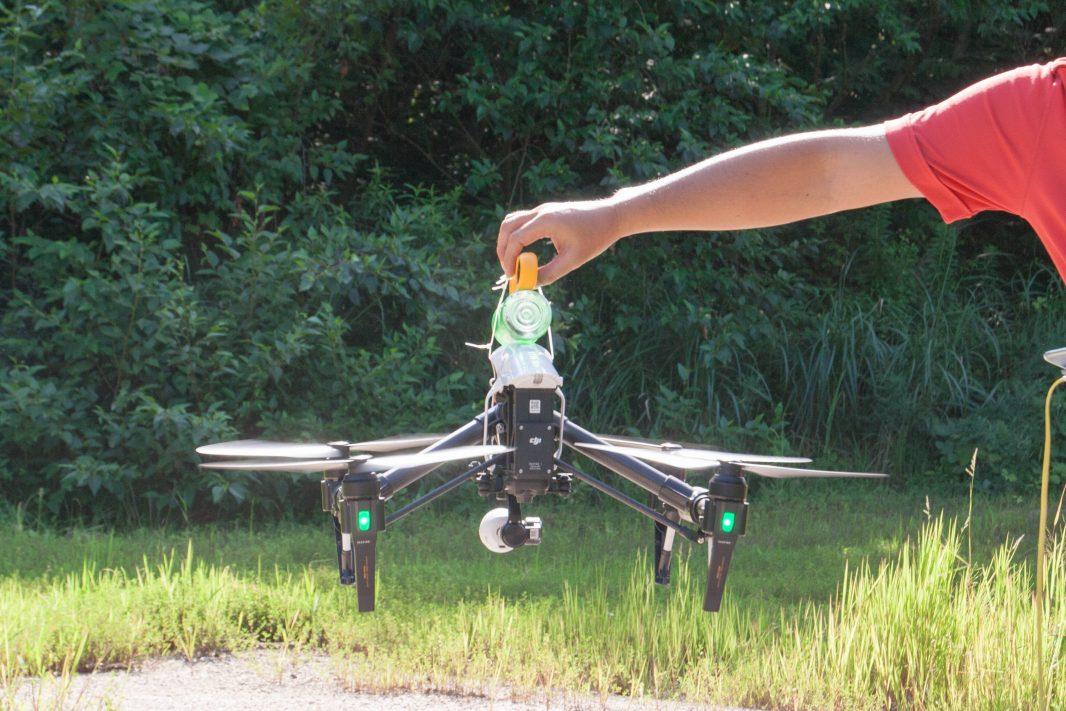 ▲離陸直後に風速計をリセット